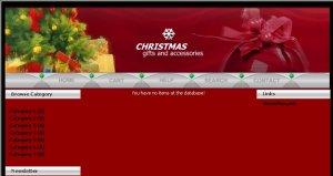 Christmas E-store