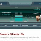 DJ Directory Website