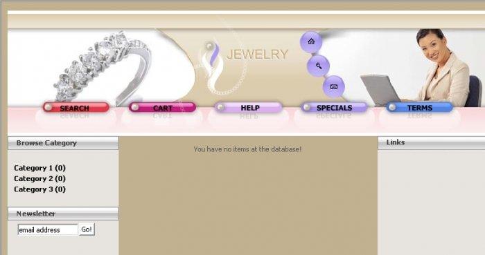 Jewelry E-Store 2