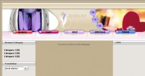 Jewelry E-Store 3
