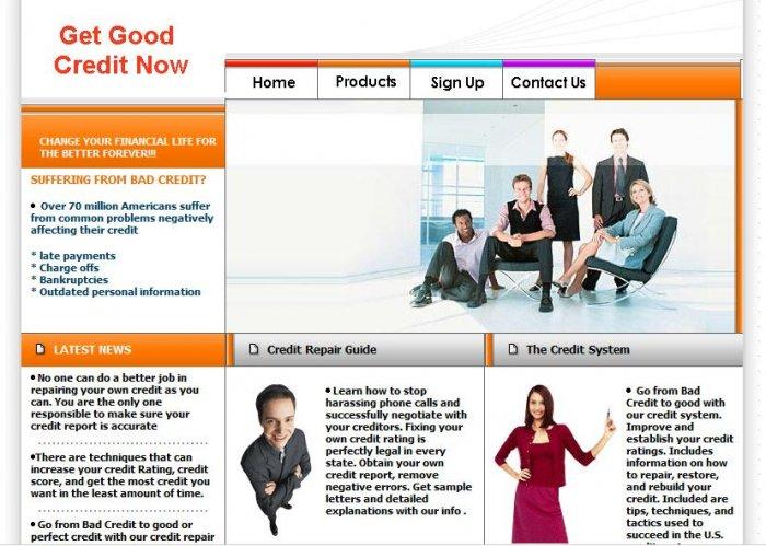 Credit Repair Website 2