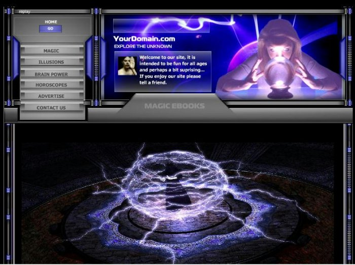 Magic Website 2