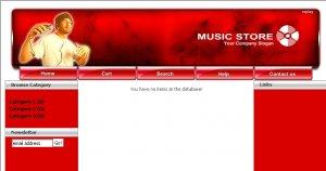 Music E-store