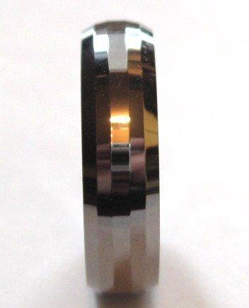 6mm High Polish Tungsten Carbide Wedding Band Ring TU3047