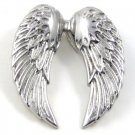 "Stunning Angel Wings Stainless Steel Pendant with FREE 20"" SS Ball Chain SSP7258"
