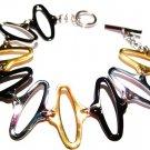 Oval Link Stainless Steel Bracelet SSB7656