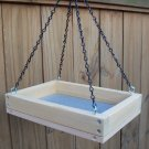 Cedar Hanging Platform Bird Feeder w-Chains - small