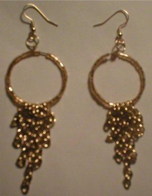 5 Strand Chain Dangle Earrings