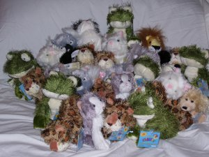 Lot of webkinz