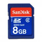 Sandisk 8GB SDHC (SD High Capacity) Memory Card