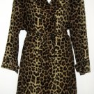 ASTONISHINGLY BEAUTIFUL 1991 YES Leopard Print Dress and Trench Coat Set