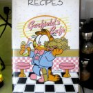 90's GARFIELD Recipe Card Ring bound Album, Refillable