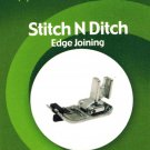 Stitch N Ditch Low Shank Presser Foot for Singer 221 and Many Others - NN14
