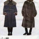 Vogue Pattern 2182; Issey Miyake Designer Original Coat - UNCUT