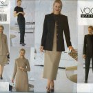 Vogue Pattern 2219; Jacket, Dress, Top, Skirt & Pants Sizes 12-14-16 - UNCUT