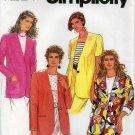 Simplicity Pattern 7719; Misses' Lined Jacket, Size 12-14-16 - UNCUT