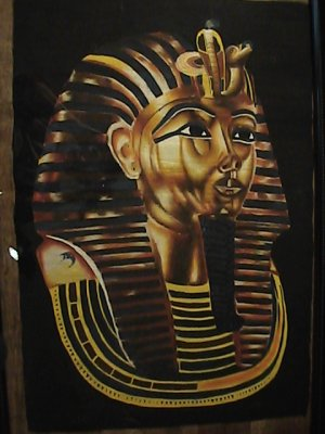 King Tut  golden mask( side view)