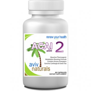 Acai 2 Weight Loss ENERGY Supplement Acai Berry, Green Tea, Garcinia HCA - BURN FAT
