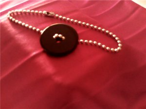 Black Button Bracelet