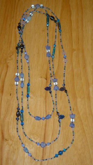 Glass and Sead Bead Wrap