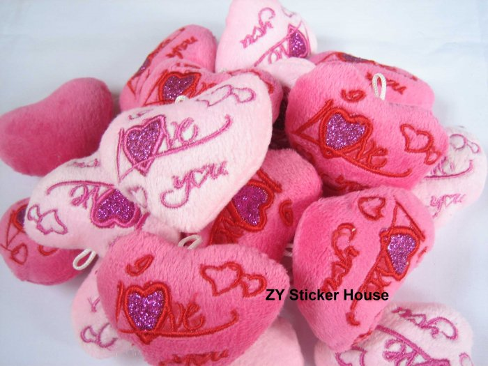Mini Heart Shape I Love You Plush