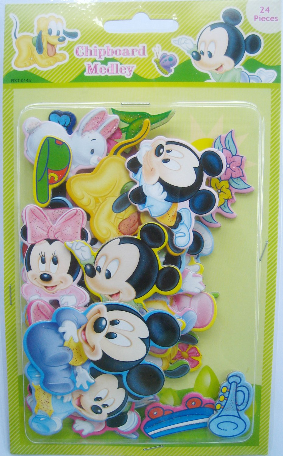 3D Chipboard Sticker Baby Mickey FREE SHIPPING + BUY ANY 2 FREE 1