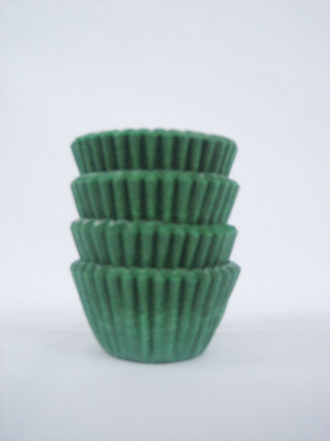1000pcs Green Mini Paper Cake Cup for Candy/Cookies/Petite/Cake 6cm