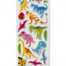 10 sheets OK050d Pre-Historic Dinosaur Mini Puffy Sticker