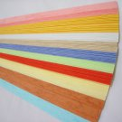 100 strips Embossed Mix Colour I Origami Folding Lucky Star Paper Strips
