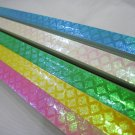 90B strips Pastel Criss Cross Pearlescent Origami Lucky Wishing Star Paper Strips
