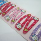 Wholesale 60pcs Rabbit Design Girl Snap Hair Clip 4.5cm (yw_hole)