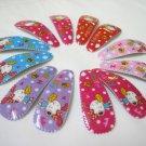 Wholesale 60pcs Rabbit Design Girl Snap Hair Clip 4.5cm (mail_nhole)
