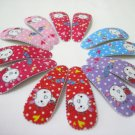 Wholesale 60pcs Rabbit Design Girl Snap Hair Clip 4.5cm (backpack_n/hole)