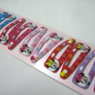 Wholesale 60pcs Minnie Girl Snap Hair Clip 4.5cm (tree_hole)