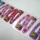 Wholesale 60pcs Baby Minnie Girl Snap Hair Clip 4.5cm (apple_hole)