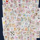 Wholesale 100 sheets Assorted Design Puffy Sticker