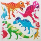 Big 3D Dinosaur 2 GARDEN Wall Sticker Kid Room Decor