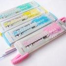 Trial Pack No Shipping Fee 1 tube 0.5mm 2B Multicolor Mechanical Pencil Refil Lead 60mm