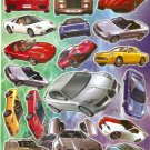 10 sheets D139 Car Model Removable A4 Sticker