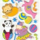 Circus Fun Small Puffy Sticker #L04d