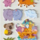 Noah's Ark Small Puffy Sticker #H01d