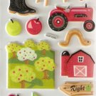 Apple Farm Small Puffy Sticker #H06b