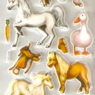 Small Puffy Sticker Horse #H15c