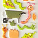 Pumpkin Patch Small Puffy Sticker#H06a