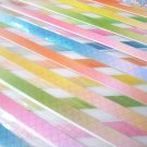 70 strips CRISS CROSS PEARLESCENT Mix Colour Origami Folding Lucky Star Paper Strips 70A