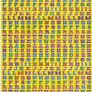 10 sheets #TM0027 Letters or Alphabets Removable A4 Sticker