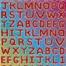 10 sheets  #E101 Letters or Alphabets Removable A4 Sticker