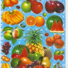 10 sheets ASSORTED FRUIT Sticker #SP00051