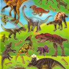 10 sheets TM0313 Realistic Dinosaur Sticker for Scrapbooking etc