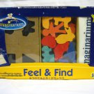 Imaginarium Feel & Find Mystery Bag with Matching shape and base FREE SHIPPING WORLDWIDE